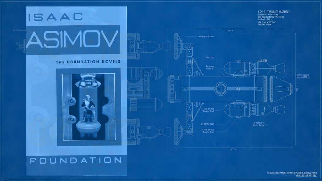 15 books elon musk thinks everyone should read - The Foundation trilogy by Isaac Asimov