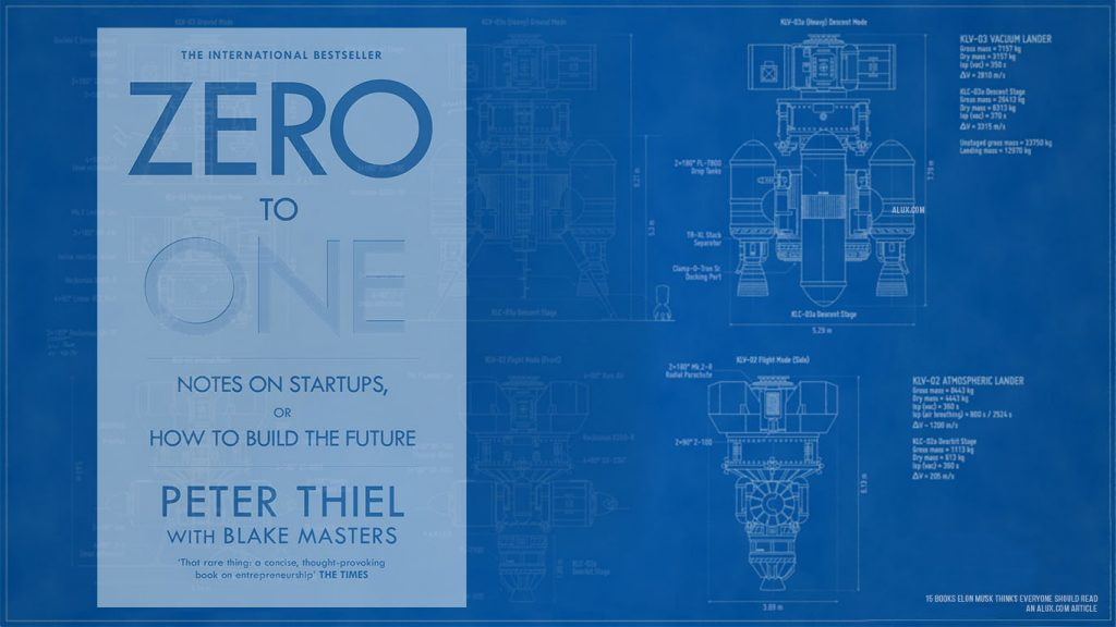 15 books elon musk thinks everyone should read - Zero to One Notes on Startups or How to Build the Future by Peter Thiel