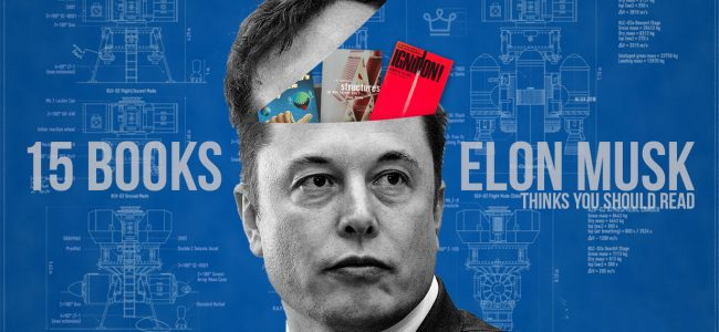 15 books elon musk thinks everyone should read alux luxury article