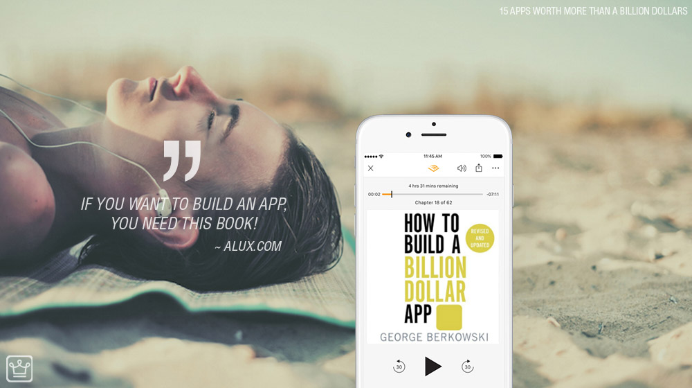 How to build a billion dollar app alux artwork / billion dollar apps