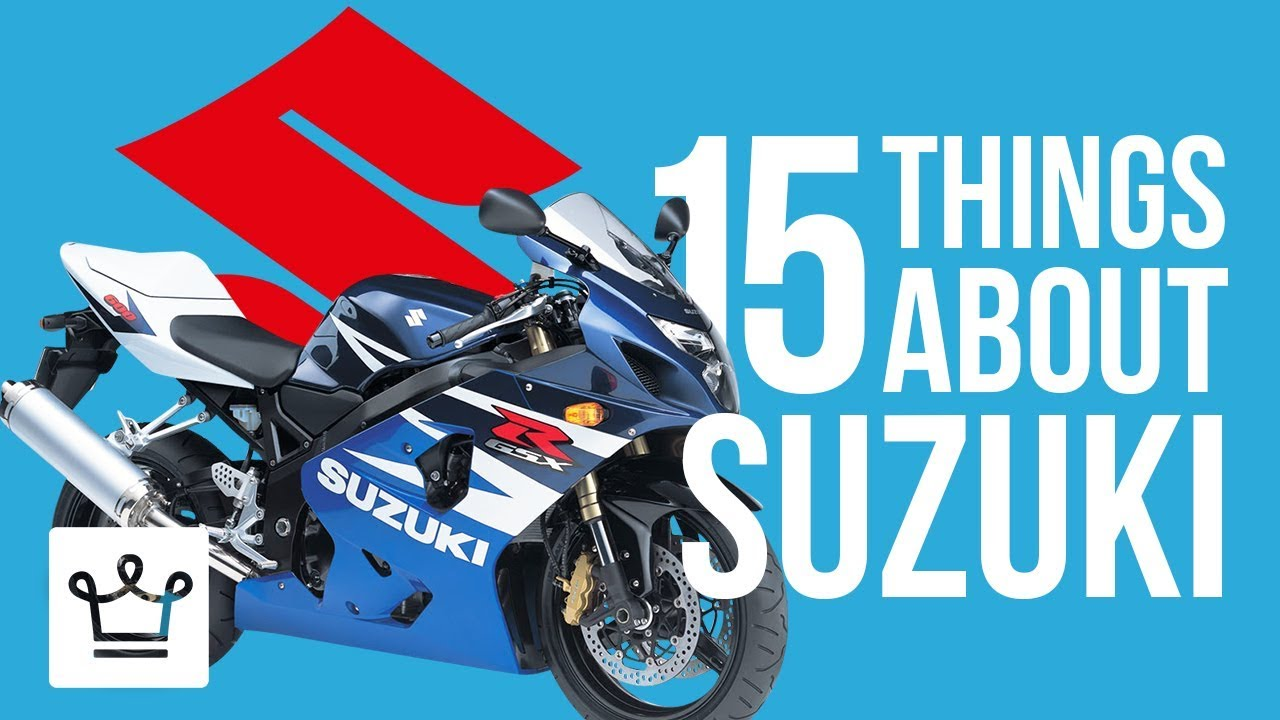 15 Things You Didn't Know About SUZUKI
