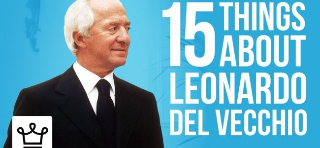 15 Things You Didn't Know About Leonardo del Vecchio