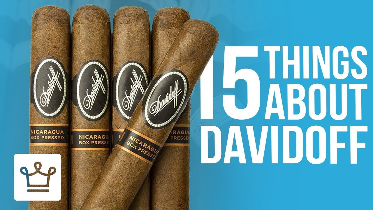 15 Things You Didn't Know About DAVIDOFF