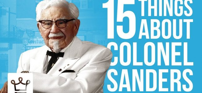 15 Things You Didn't Know About Colonel Sanders
