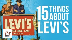 15 Things You Didn't Know About Levi's