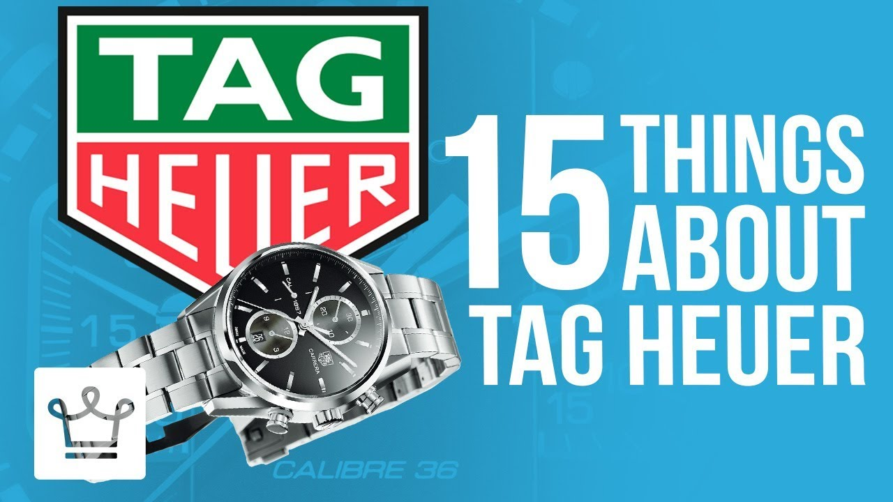 15 Things You Didn't Know About TAG HEUER