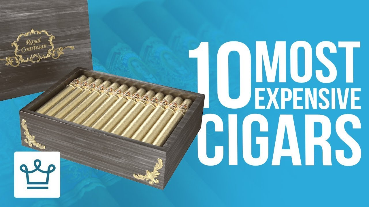 Top 10 Most Expensive Cigars In The World