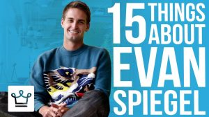 15 Things You Didn't Know About Evan Spiegel