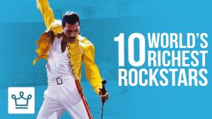 Top 10 Richest Rockstars Of All Time