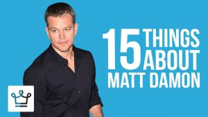 15 Things You Didn't Know About Matt Damon