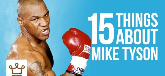 15 Things You Didn't Know About Mike Tyson