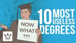 Top 10 Most Useless Degrees 2019