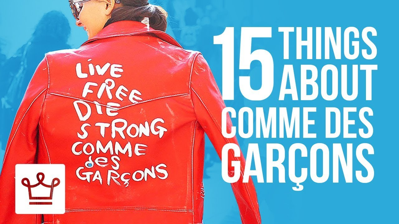 15 Things You Didn't Know About Comme Des Garçons