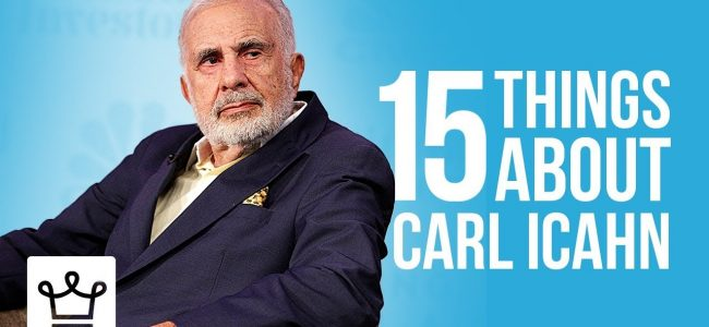 15 Things You Didn't Know About Carl Icahn