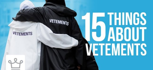 15 Things You Didn't Know About Vetements
