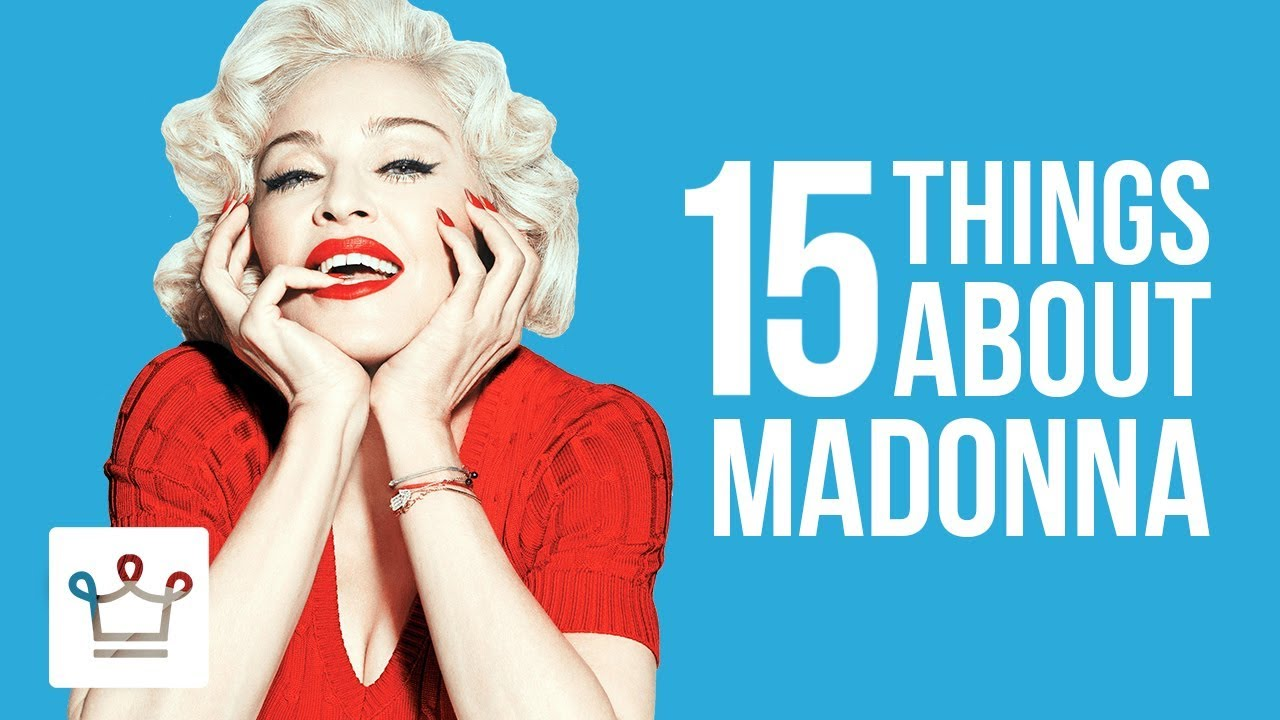 15 Things You Didn't Know About Madonna