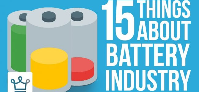 15 Things You Didn't Know About The Battery Industry