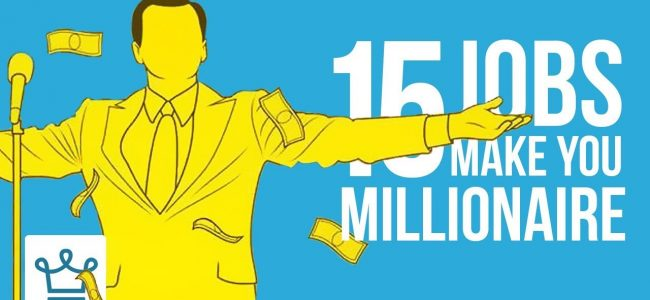 15 Jobs That Can Make You a Millionaire