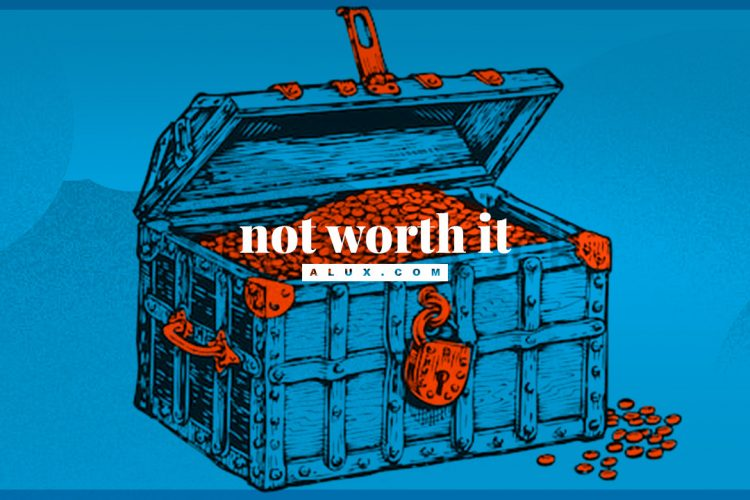 15 things not worth it in life alux artwork