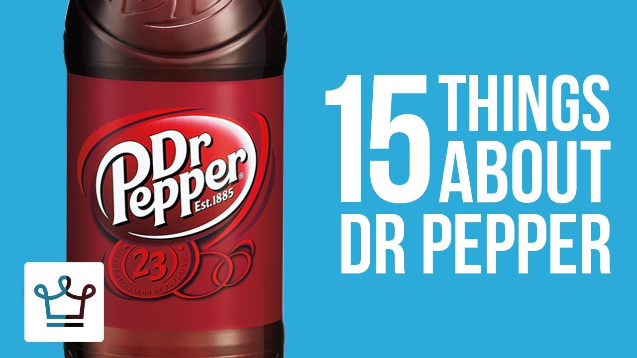 15 Things You Didn't Know About Dr Pepper