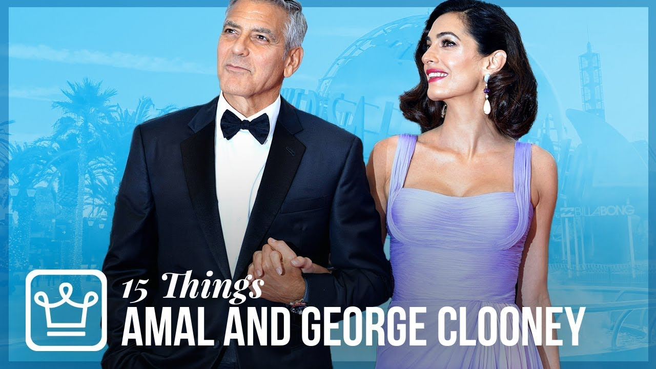 How well do you know Amal & George Clooney