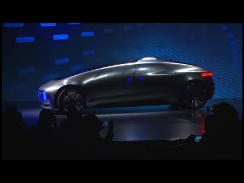 Mercedes Unveils Self-Driving Luxury Car in Vegas