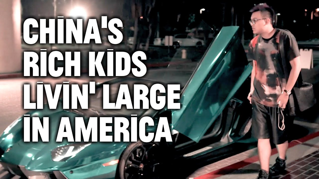 Ultra-Rich Chinese Kids In LA drive some really expensive cars!