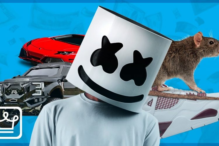 "Featured image for the article ""15 Crazy Expensive Things Marshmello Owns"""