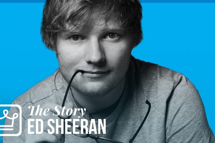 Featured image to depict article on Ed Sheeran - biography of a an inspiring life.