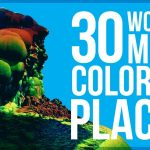 Featured image for the article: 30 Most colorful places in the world