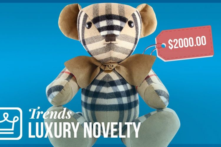 "Featured Image of the article ""Why Luxury Brands Are Selling Novelty Items"""