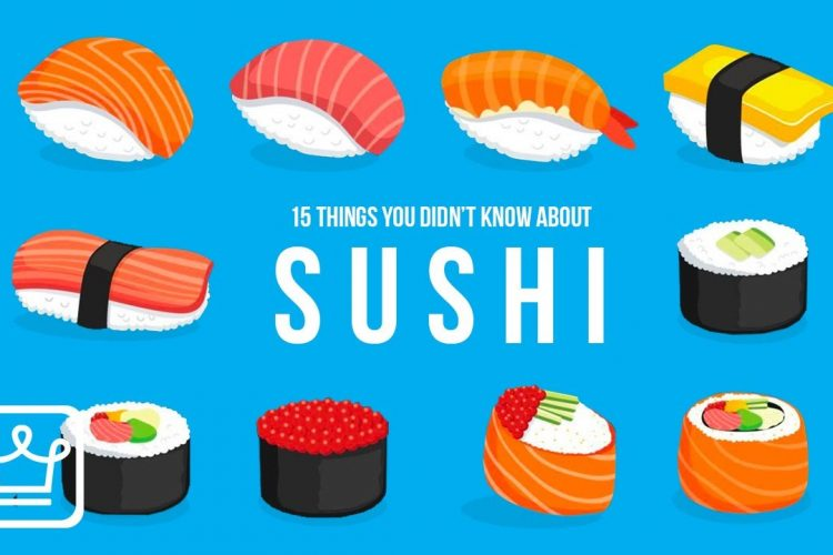15 Things You Didn't Know About Sushi . sushi food