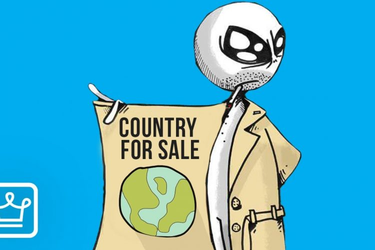 How Much Would It Cost to Buy Your Own Country?